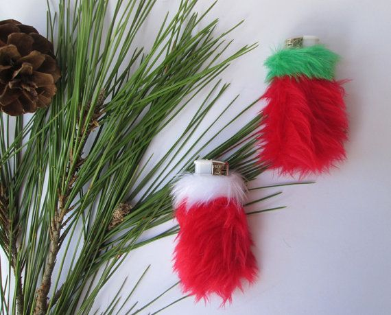 Cute Christmas Bic Lighter Covers Christmas Gift for by Kerenika