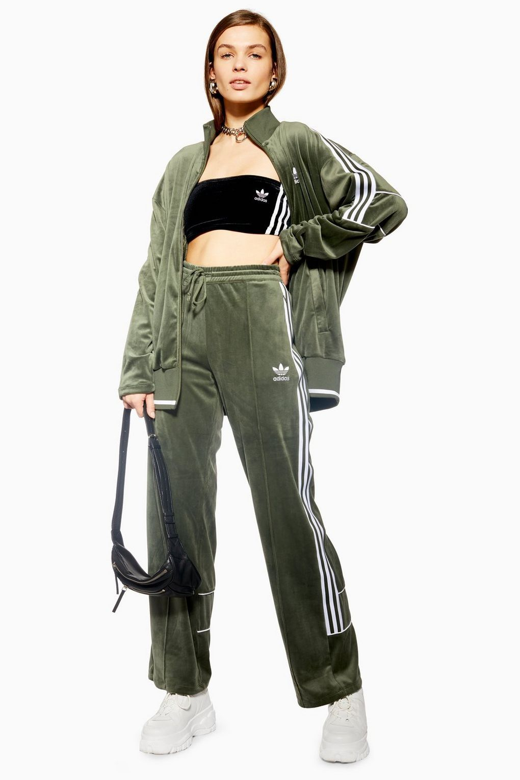Velour Trackpants by adidas in 2019 | Parents | Adidas
