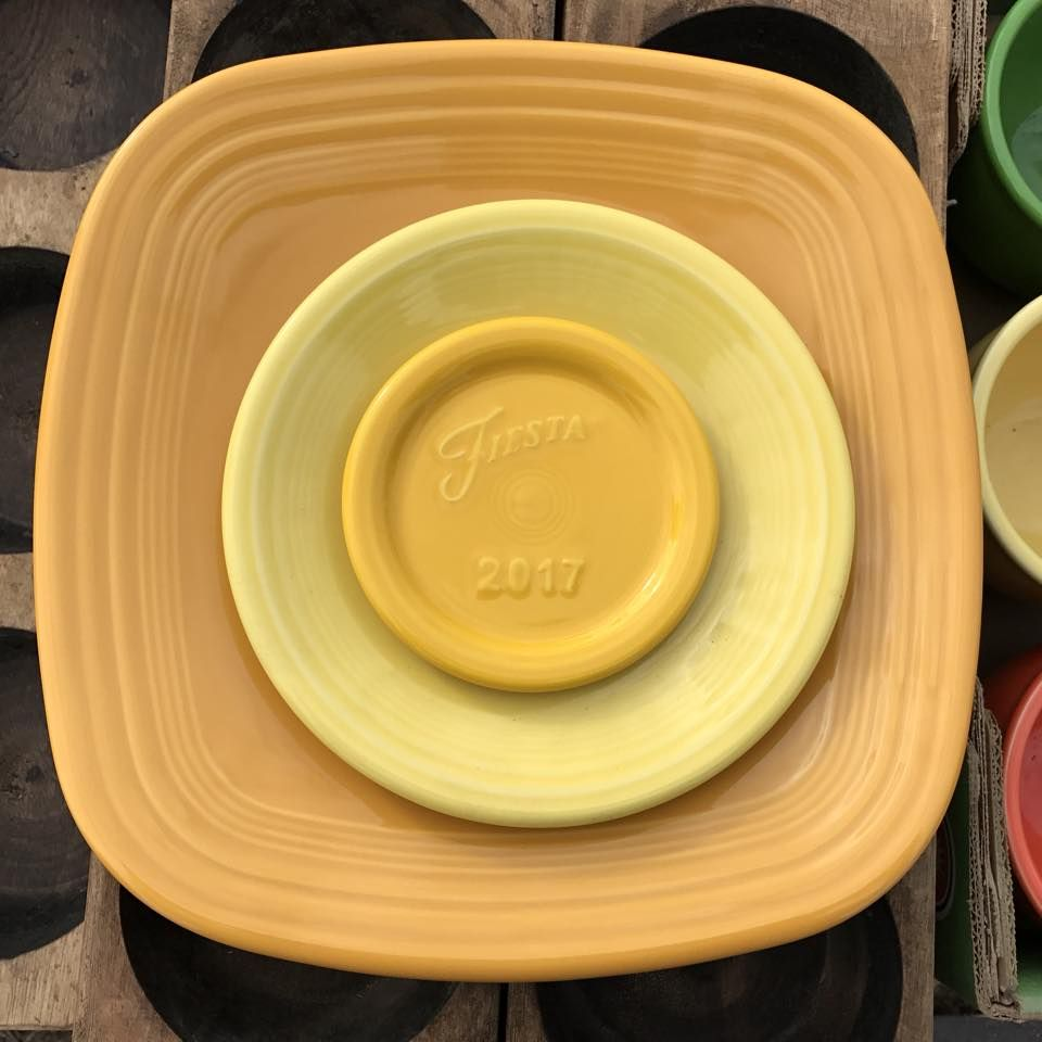 Sunflower Kitchen Fiestaar Daffodil Sunflower And Marigold Fiestaware Pinterest
