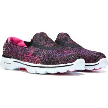 Women's GOwalk 3 Glisten Slip On Sneaker Sneakers, Slip on  Sneakers, Slip on