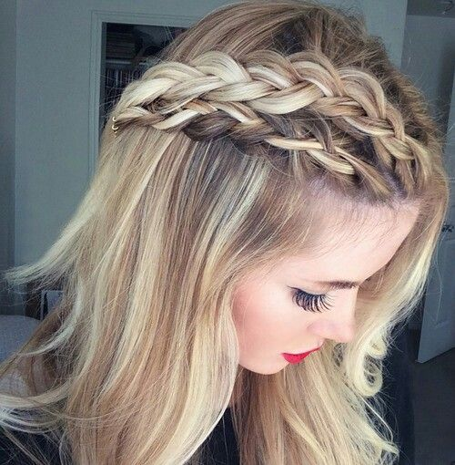 medium blonde hair styles always dolled up 25 trendy braid styles for amp damaged 7544 | 7544a893e401d4d46a08018327551f24