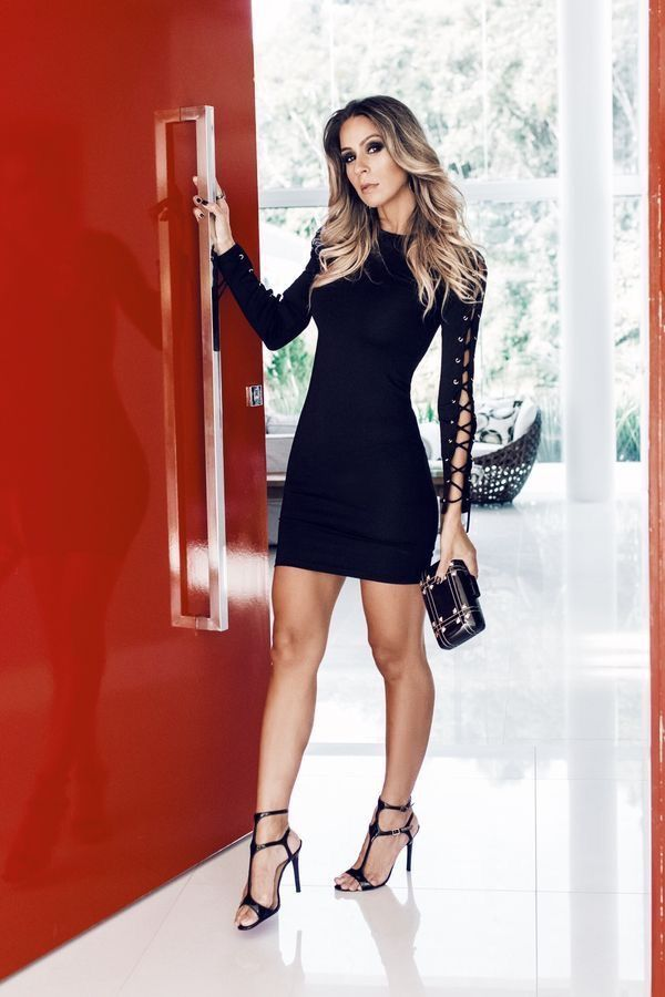 2db6e83f6b5 Stylish little black dress   Fashion in 2019   Dresses, Black ...