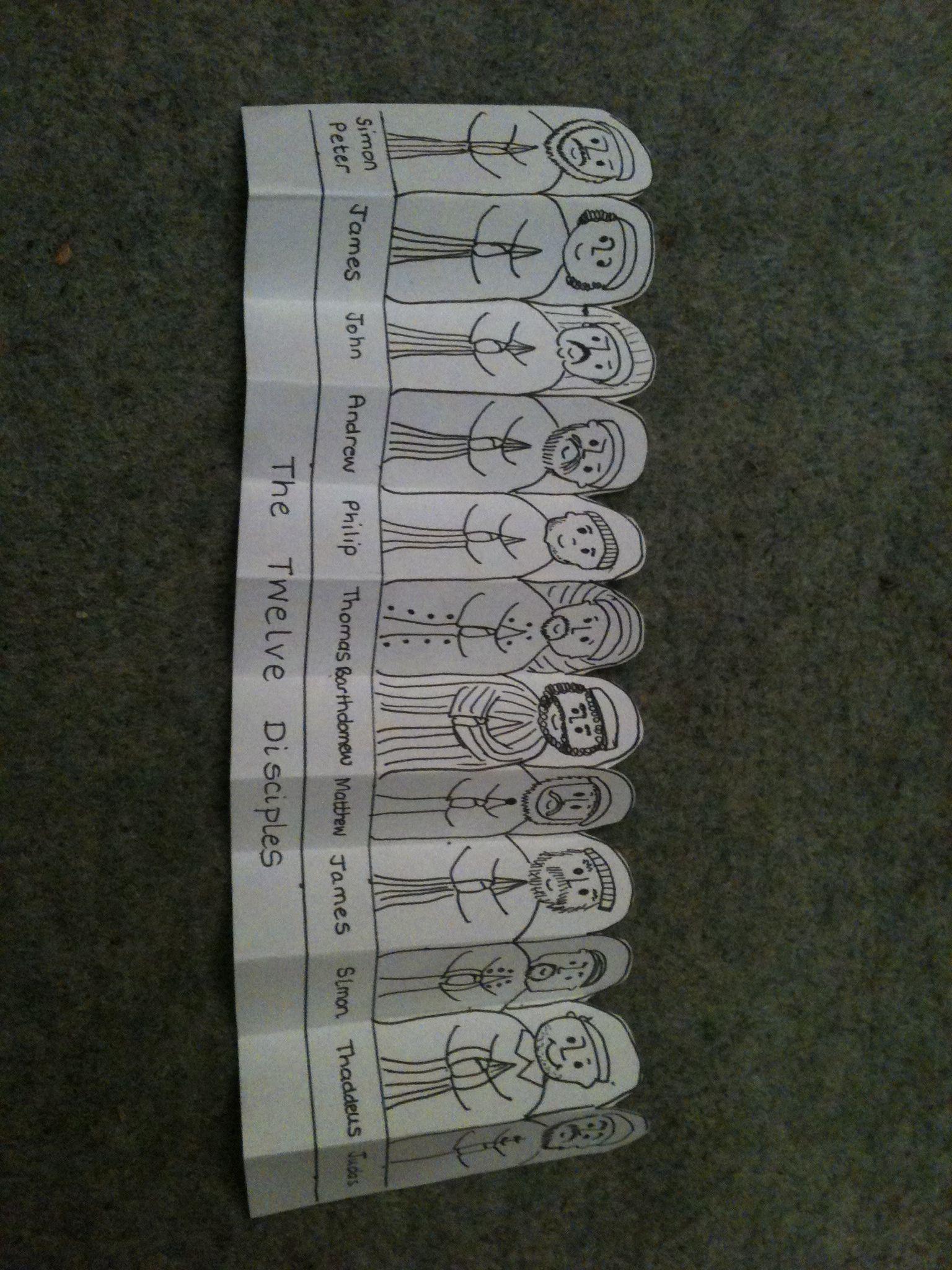 12 apostolia.