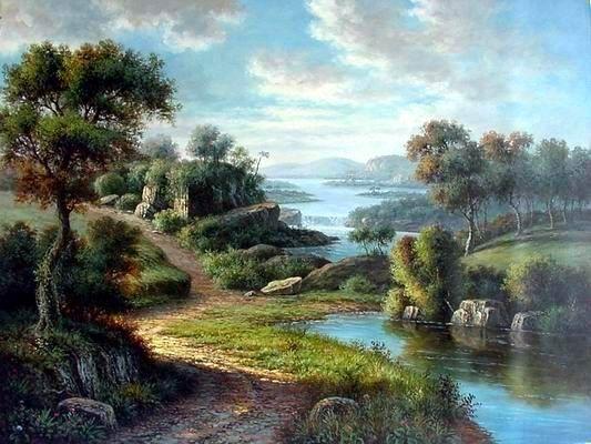 Landscape Oil Paintings Gallery Artist Landscape Paintings Landscape Oil Painting Oil Painting Landscape Paintings Landscape Art Landscape Art Prints