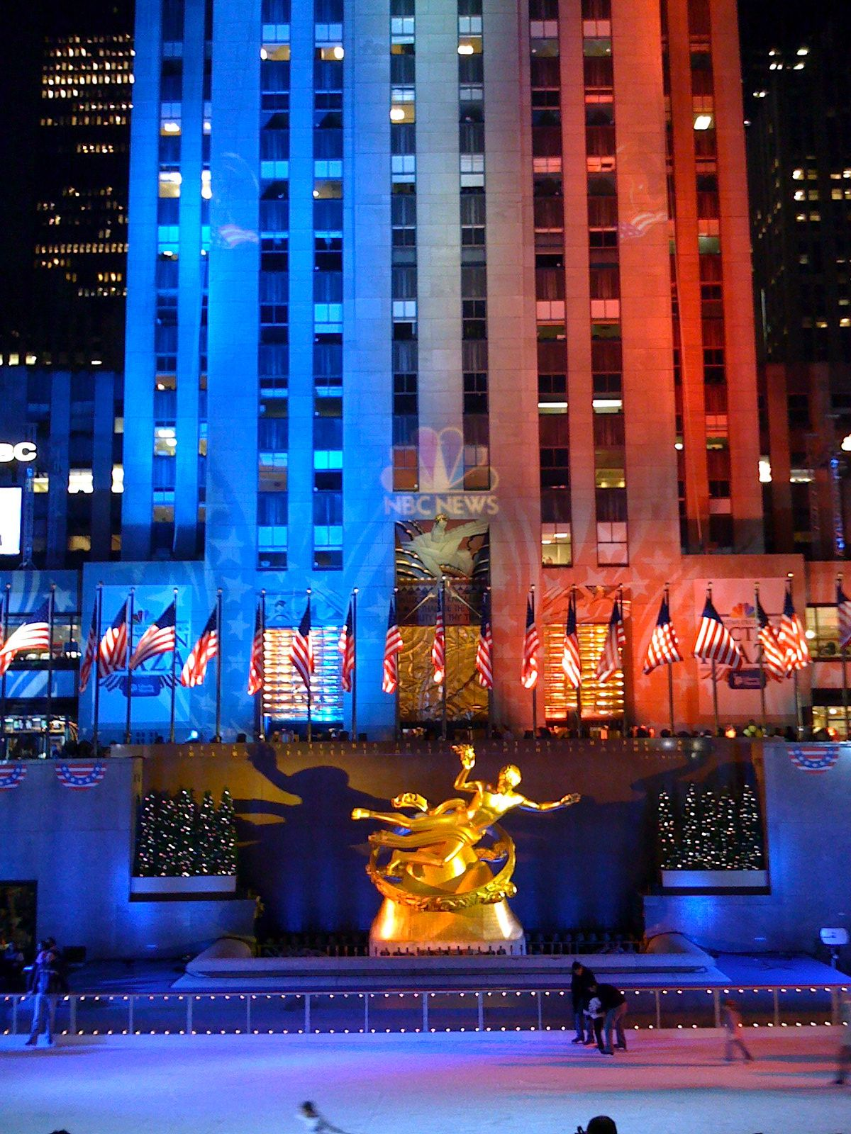 Rockefeller Center NYC at Christmas Favorite Places
