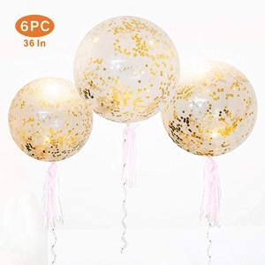 Best Graduation Party Decor Ideas Christina Bee Glitter Balloons Gold Confetti Balloons Confetti Balloons