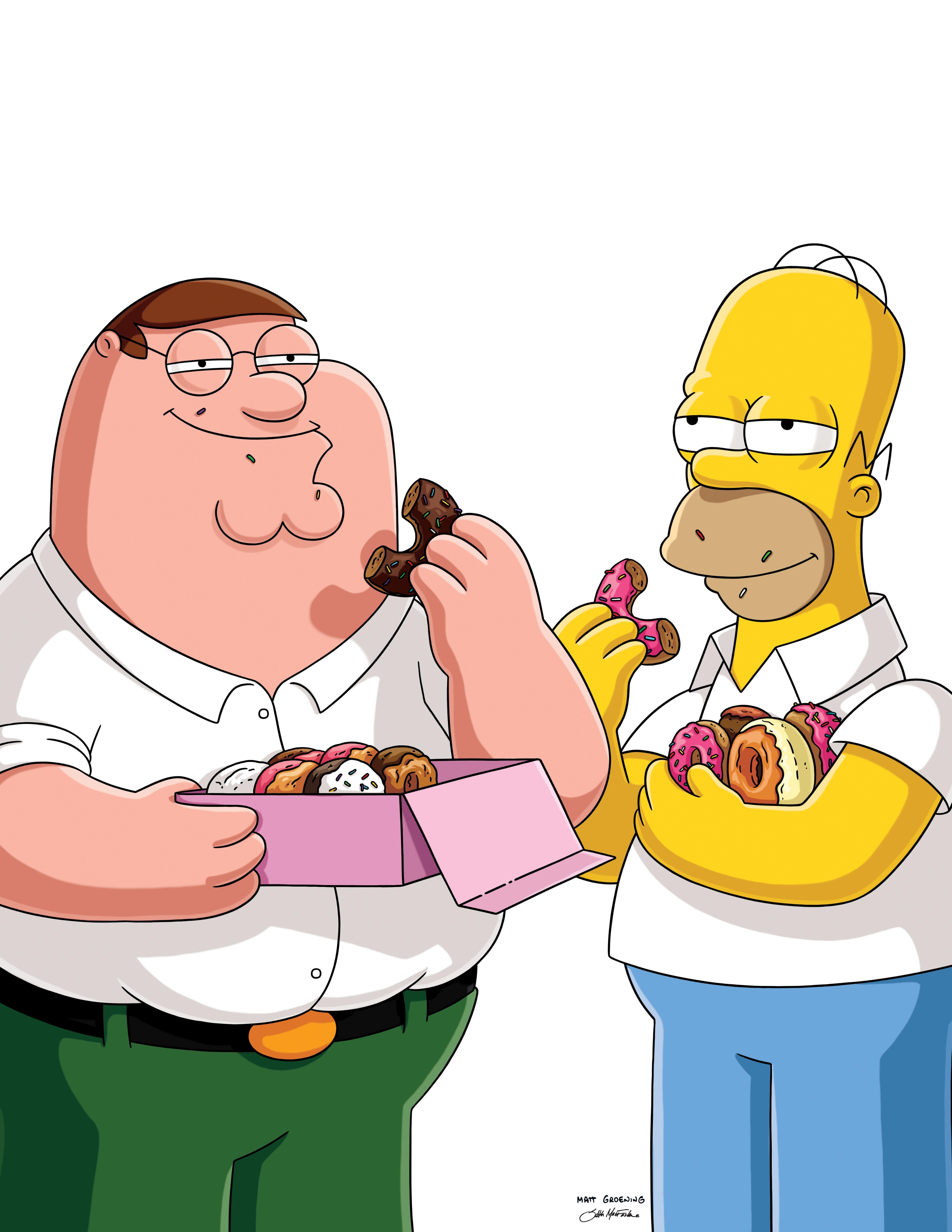 yummy donuts vs. mmmm, doooonuts: you decide. #familyguy