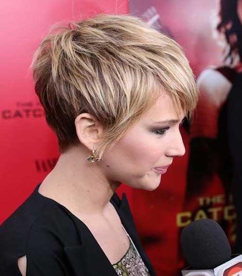 Short Short Hairstyles hairstyles that men find irresistible medium shag haircutsshort Jennifer Lawrence More Pixie Backshort