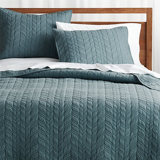 Teal Bedding, Crate And Barrel Bedding Reviews