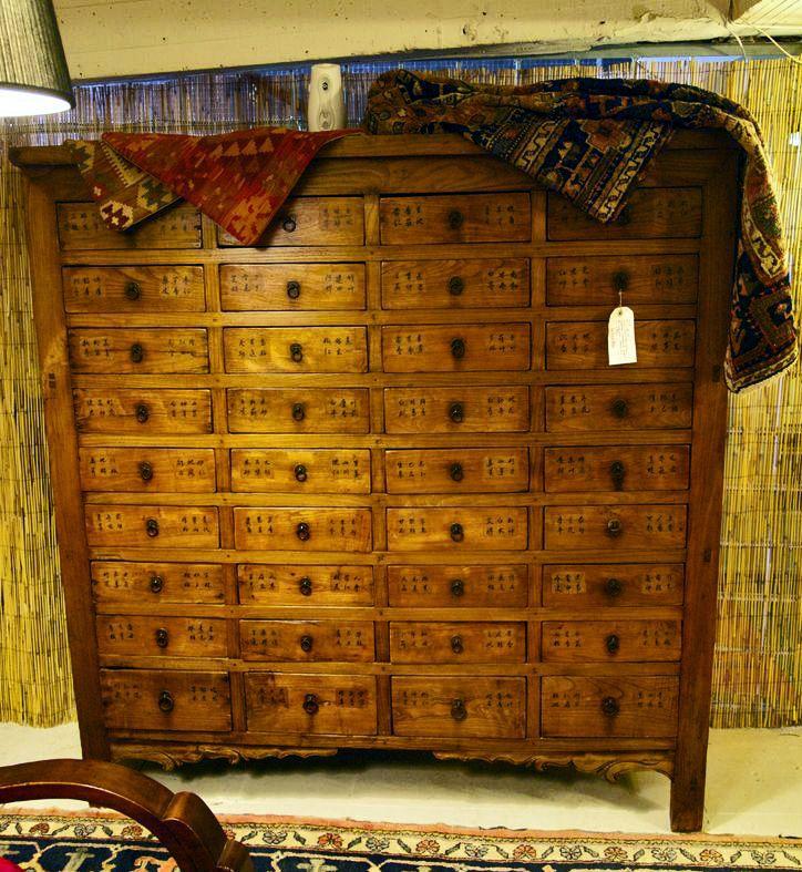 Artesanato Sobre Halloween ~ Mueble antiguo chino de farmacia #decoración #china #asiática www misturashowroom com Estilo