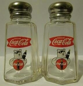 Charming Set Of 2 Dr Pepper Salt and Pepper Shakers