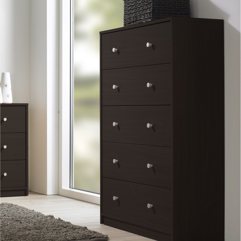 Tvilum 70333 Portland 5 Drawer Chest Bedroom Furniture Furniture Home [ 1500 x 1500 Pixel ]