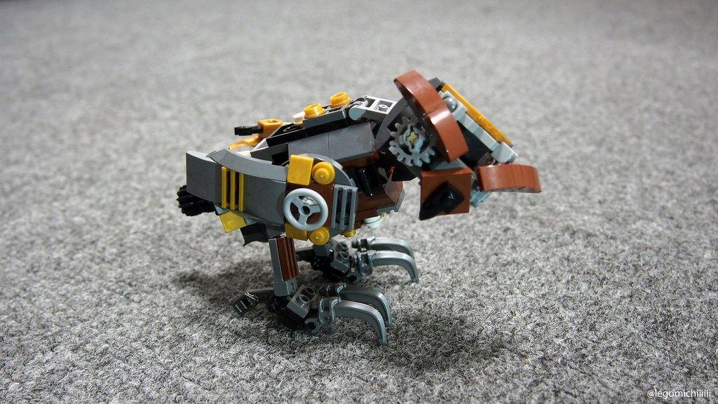 Owl By Takamichi Irie Animal Animals Lego Owl Instructions Mocs Moc