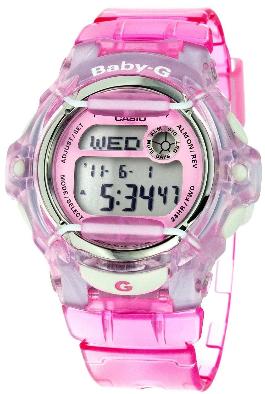 Casio Baby G Pink Jelly Bg169r 4v Womens Watches Pinterest Jam Tangan Swatch Original 100  Yes4008 Go Red Black Ampamp