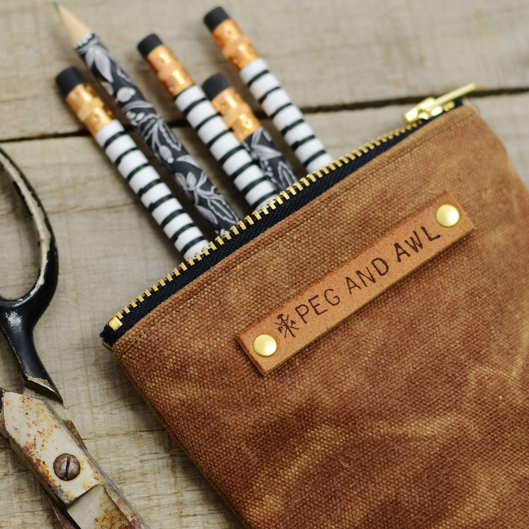 Zipper Top Pencil Case