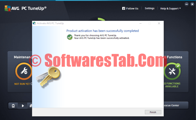 avg tuneup crack free download