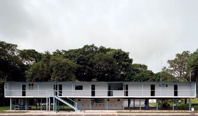 Catetinho (1956) - Oscar Niemeyer