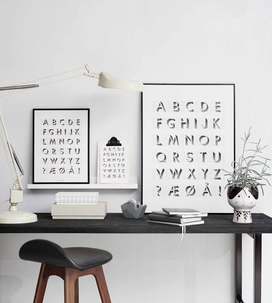 vissevasse, scandinavian prints, vintage style frames, pastel prints, italianbark interior design blog