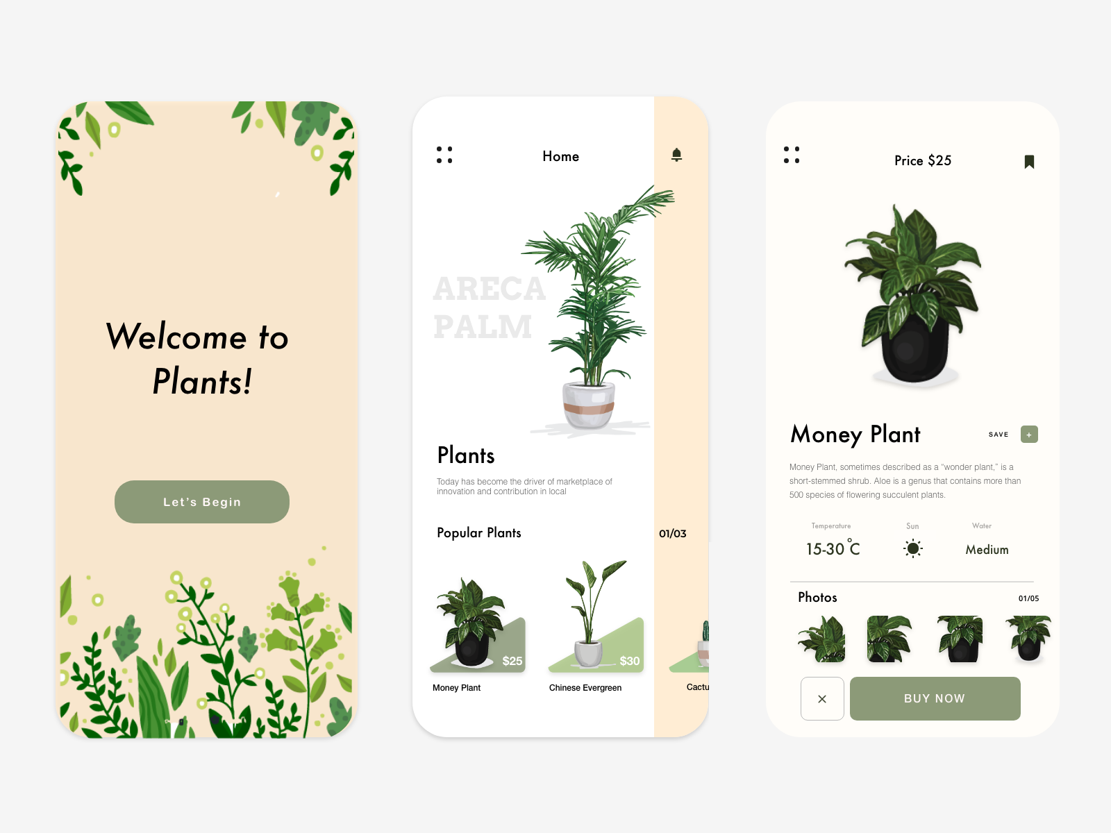 Plants! in 2020 | Plant app, Web app design, App design