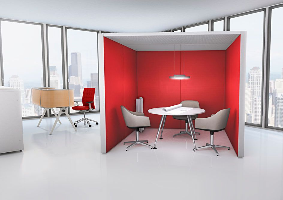 Vitra Silentwall Office Interiors Open Space Office Apartment Design