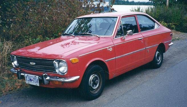 A 1970 Toyota Corolla Source Bill Vance Toyota Pinterest