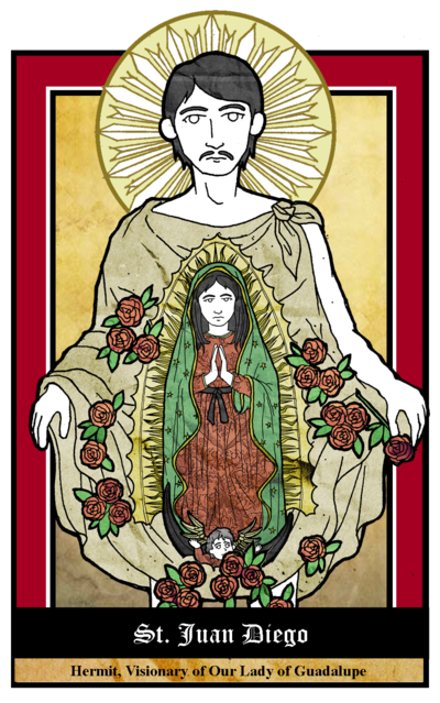 St Juan Diego By Nowitzkitramonto On Deviantart Diego Saints Shadow Puppets