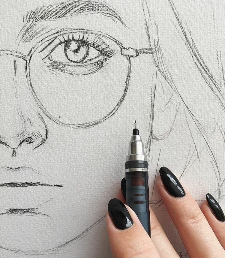 Quick Drawing Online At Paintingvalleycom Explore Collection Of