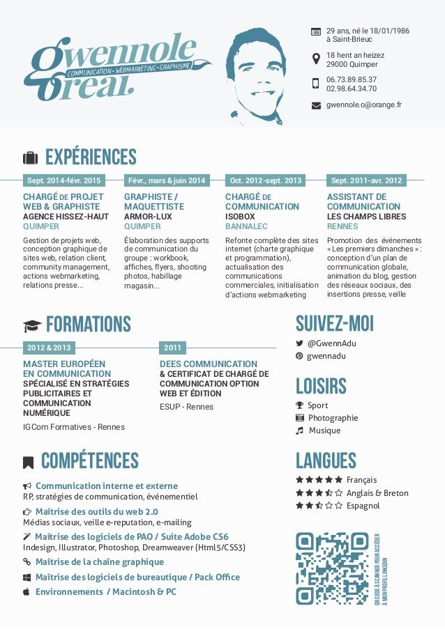 logiciel creer son cv video