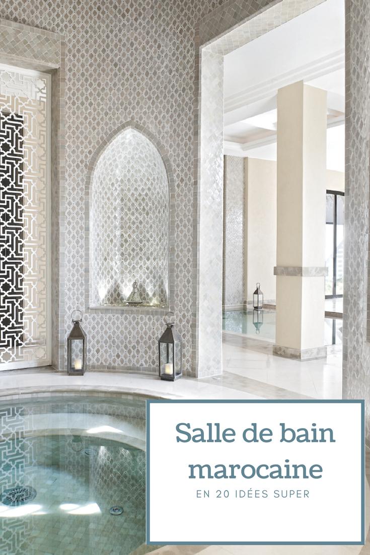 Incroyable Décoration De Salle De Bain Marocaine Aussi Authentique Que Moderne