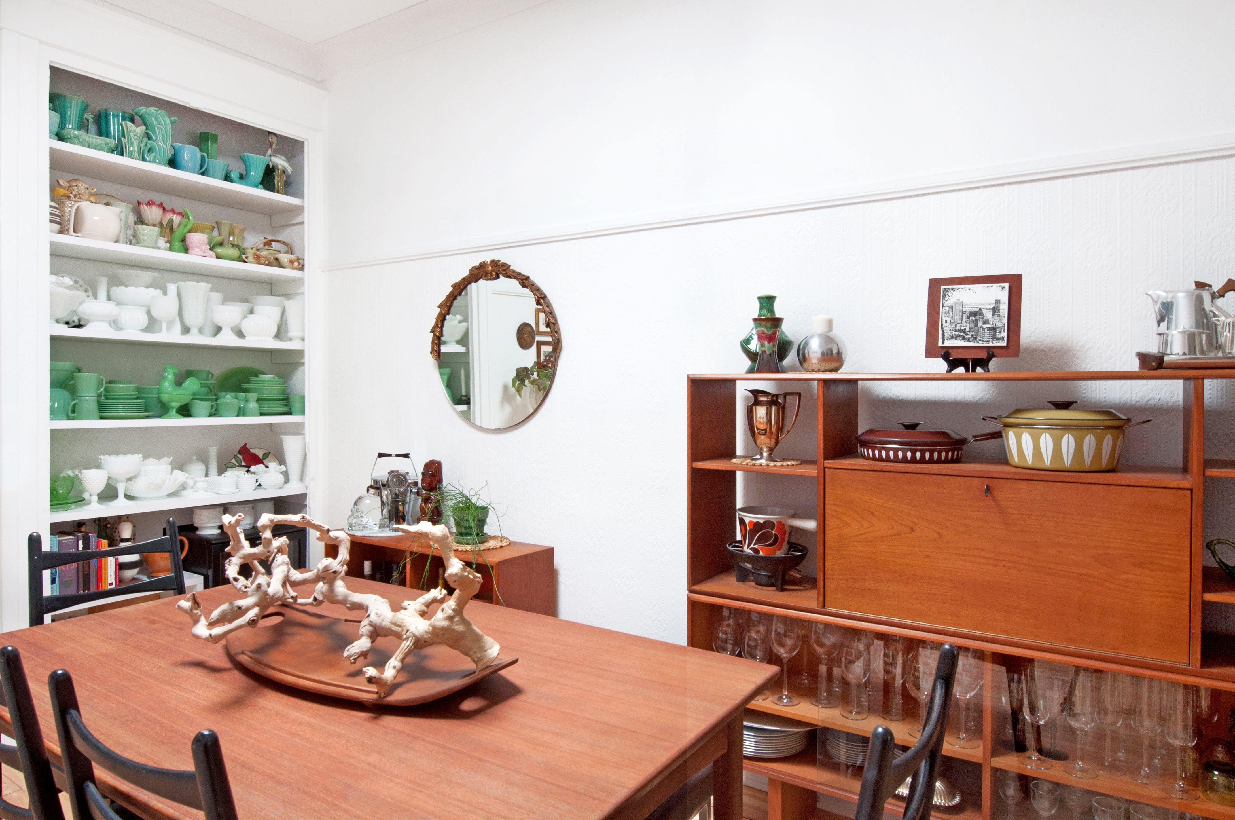 Tour a Montreal Condo Filled with Eclectic Vintage Finds | Eclectic ...