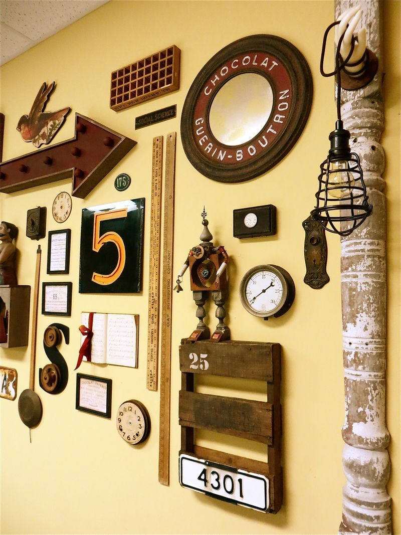 Wall Collage in the classroom at Small Studio | Display, Small ...