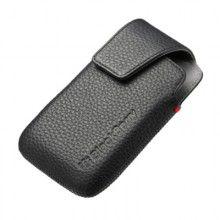 Capa Pele Holster Original BlackBerry 9790 - Preta  R$70,92