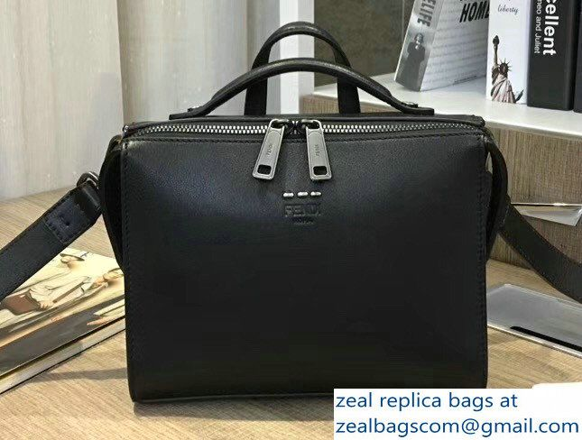 09ff930020ad Fendi Mini Messenger Shoulder Bag Black 2017