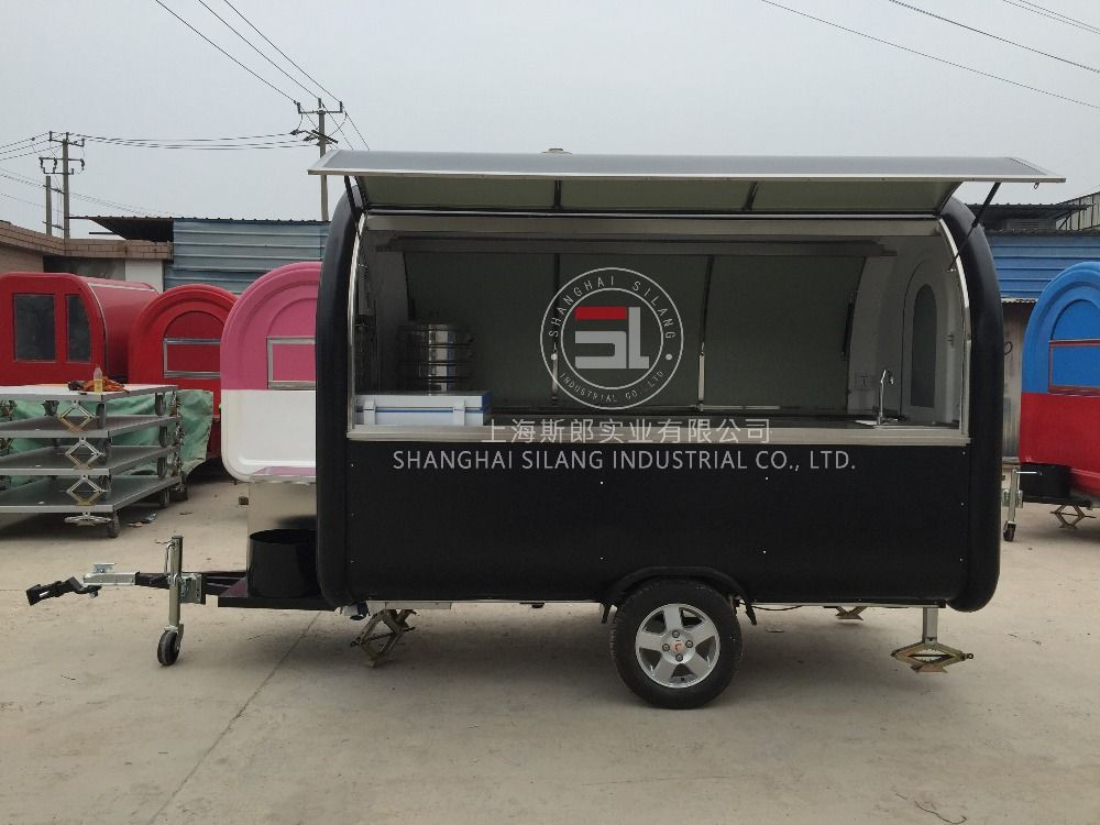 Slung Mobile Food Truck For Sale Malaysia Mobile Food Trailer Can