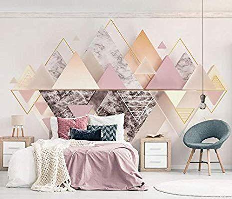 Papier Peint Mural Poster G/éant 3D Geometric Patterns Enfant Chambre Garcon Fille Ado D/écoration De La Maison