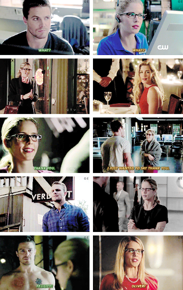 Arrow - Oliver and Felicity #Olicity <3