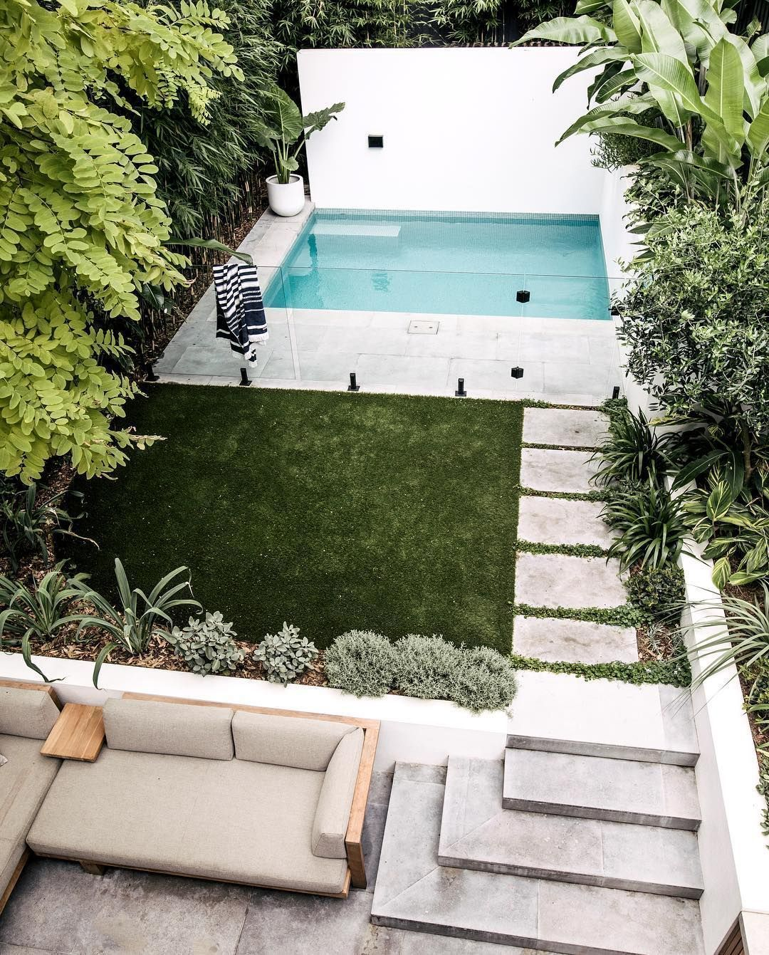 13 Marvelous Small Backyard Designs With Pool in 2020
