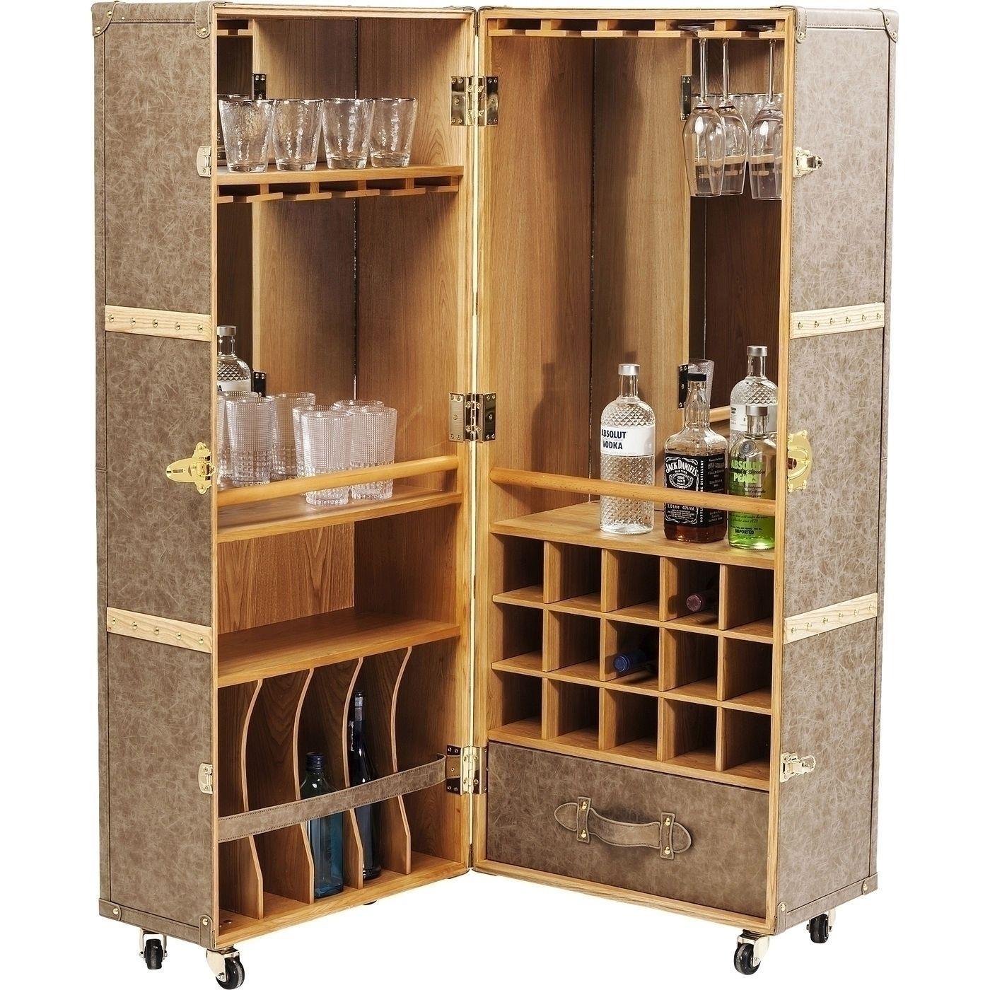 Schrankkoffer Bar West Coast Hausbar Kare Design Schrank