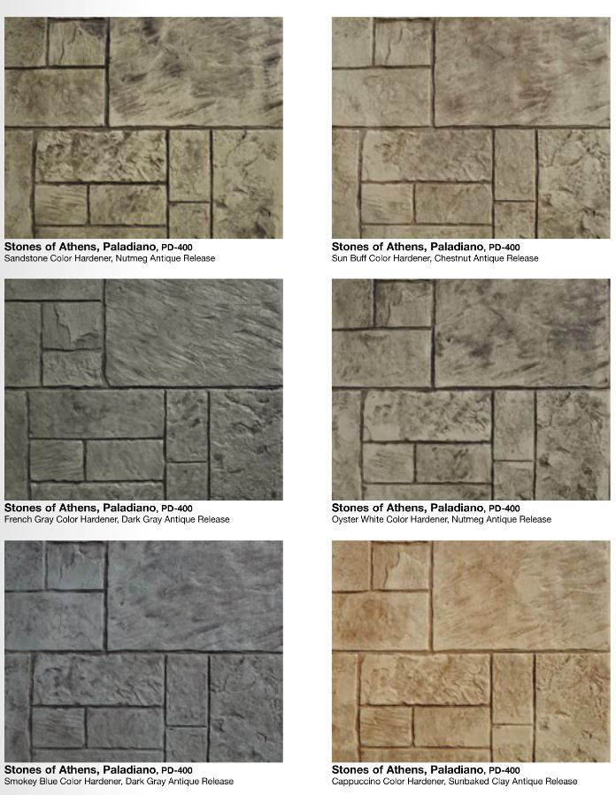 Denver Concrete Company Concrete Patio Stamped Concrete Walkway Colorful Patio