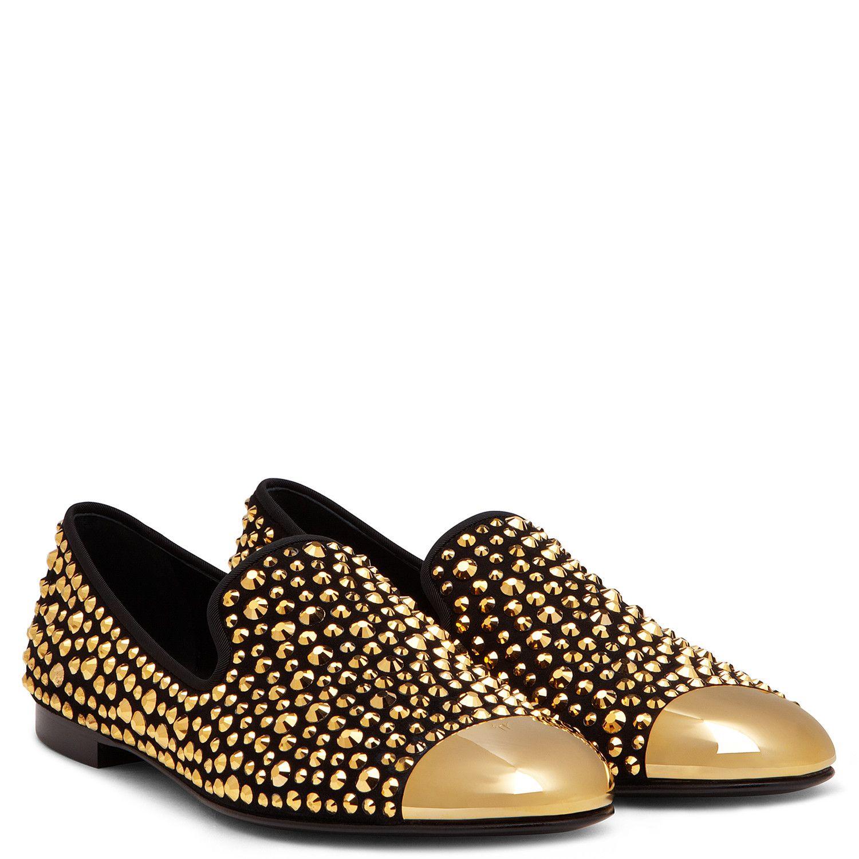 f5c9853a1f79e David - Loafers - Gold | Giuseppe Zanotti. David - Loafers - Gold | Giuseppe  Zanotti Sparkly Shoes ...