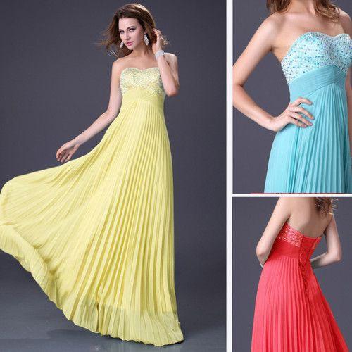 Yelow Party Dresses eBay