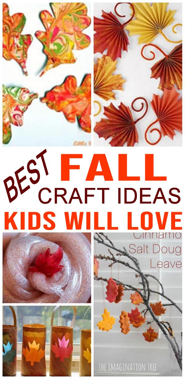 Fall Crafts For Kids Easy And Fun Diy Craft Projects Kids Will Love