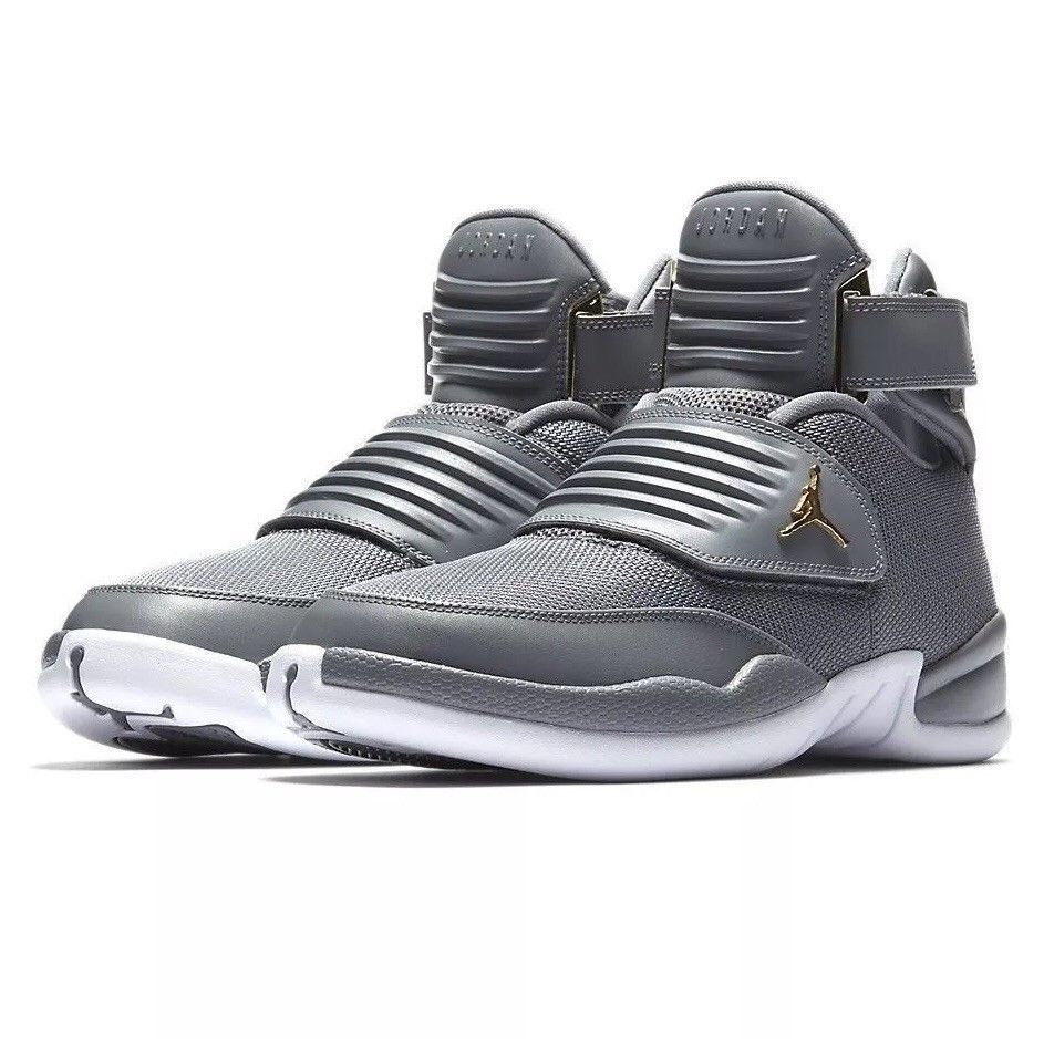 724d4ff3d8125a Jordan Generation 23 Mens Basketball Shoes 9 Cool Grey White Gold  Jordan   BasketballShoes
