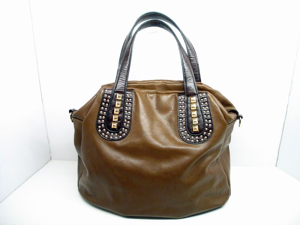 Mms Brown Satchel Handbag Purse Handbags