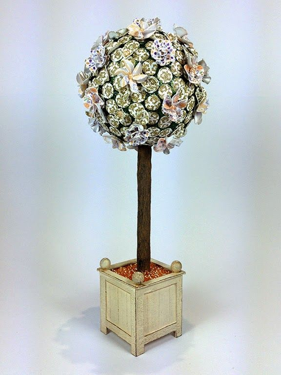 Craftwork Cards Blog: Candi Collection Topiary Tree by Neil Burley