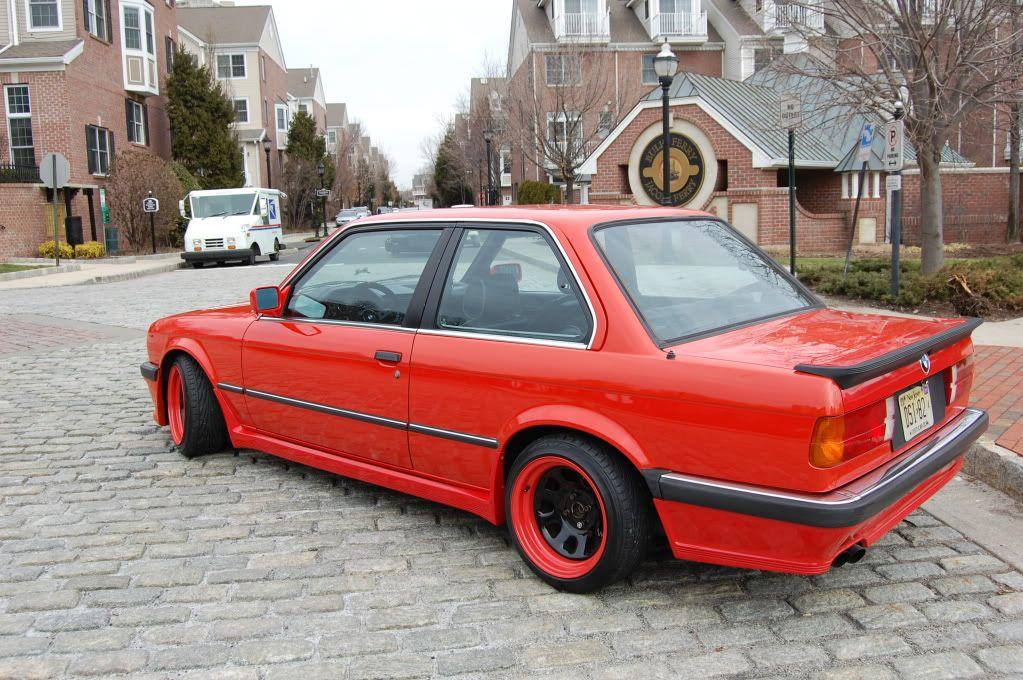 84 Bmw 325 E30 Euro M Tech1 Henna Red Rare Option And Rare Color
