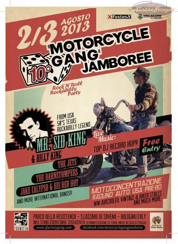 10° Motorcycle Gang Jamboree - Bologna