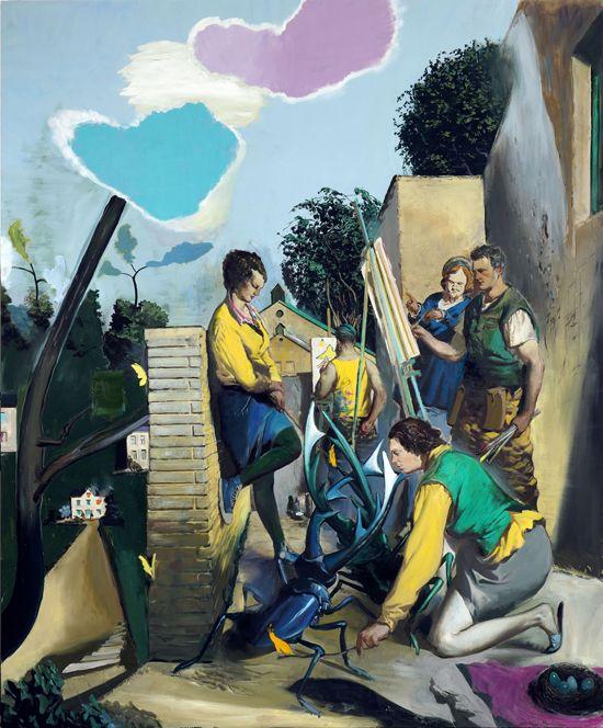 Neo Rauch Born 18 April 1960 In Leipzig East Germany German ˈneːo ˈʀaʊx Is A German Artist Whose Paintings M Idee Farbe Kunstproduktion Zeichenvorlagen
