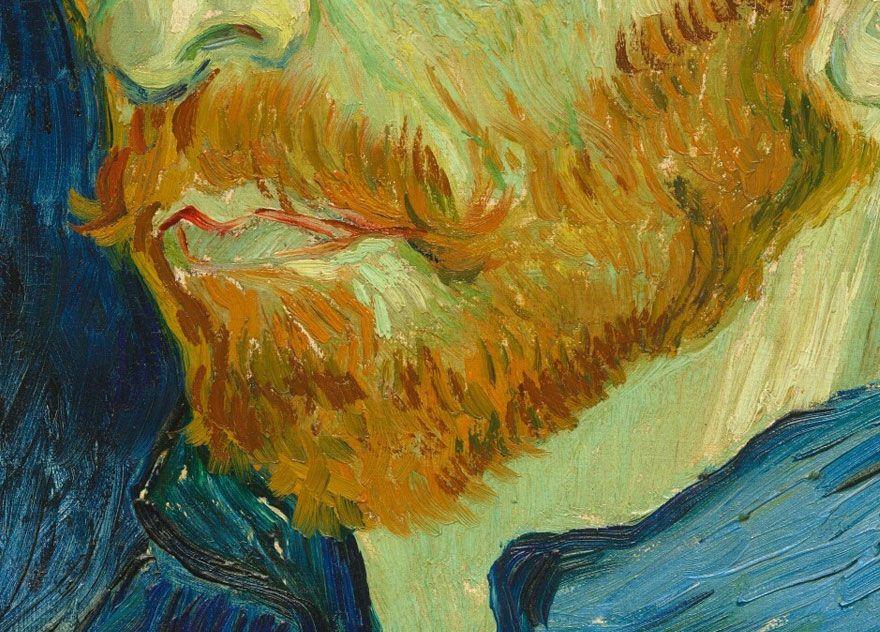 Incredible Close Ups Of Van Gogh S Paintings From Google Art Project Vincent Van Gogh Paintings Van Gogh Paintings Van Gogh