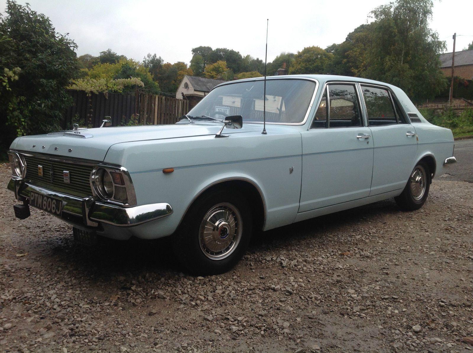 Ford zephyr 6,mk6 2.5 v6 blue 1970,only 3 owners.column change,tax ...